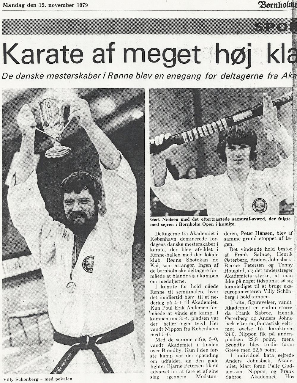 Avisklip Bornholm Open: DM 1979