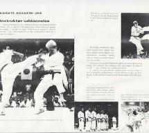 Brochure Shotokan 1976