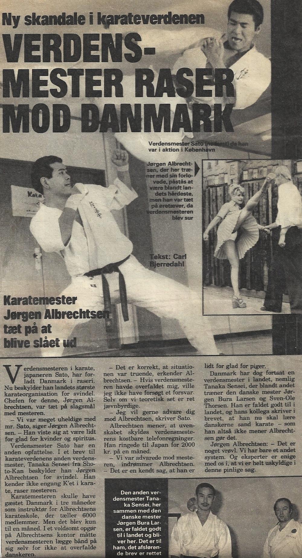 Karatekrigen Sato