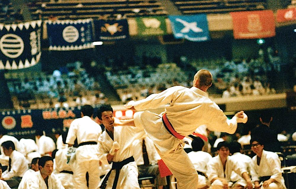 Rettet sensei kæmper ved All Japan