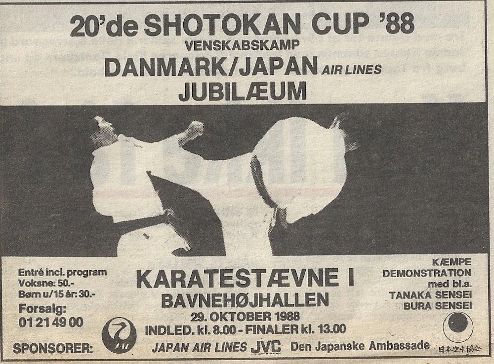 Shotokan Cup 1988