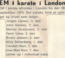 EM i London 1974