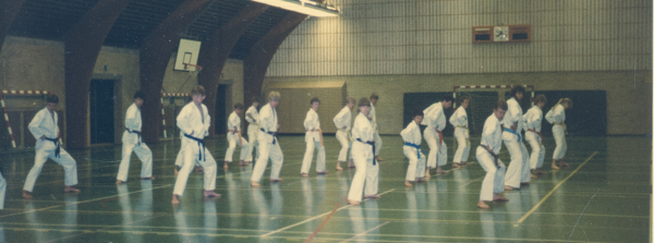 DWK-instruktørtræning 7.- 8. maj 1983 i Ellekærskolen i Århus.